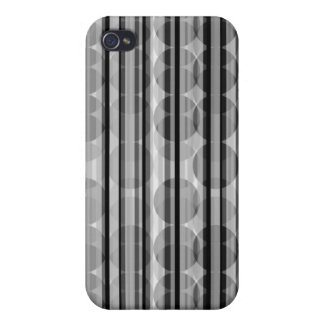 Stripe Polka Dots Gray iPhone 4 Speck Case iPhone 4 Covers