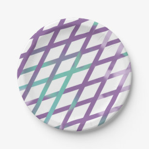 Stripe Tie-Dye Paper Plate  sc 1 st  Zazzle & Tie Dye Paper Party Supplies | Zazzle