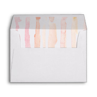 STRIPE WATERCOLOR ENVELOPE