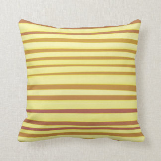 Striped Abstract acrylic painting Throw Pillow