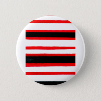 Striped Abstraction Design Pinback Button