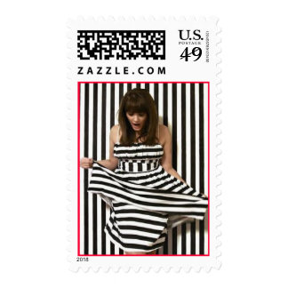 Striped and Fabulous Stamp