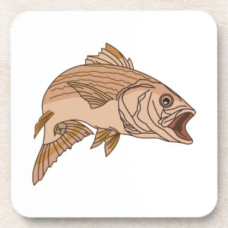 Striped Bass Beverage Coaster