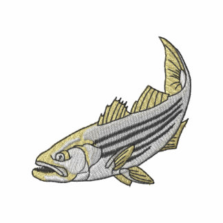 Striped Bass Embroidered Hoody