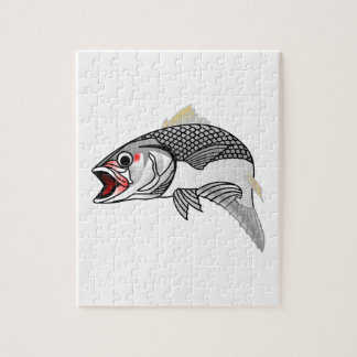 Striped Bass Jigsaw Puzzle