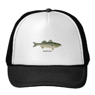 Striped Bass Logo Trucker Hat