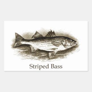 Striped Bass Logo (vintage) Sticker