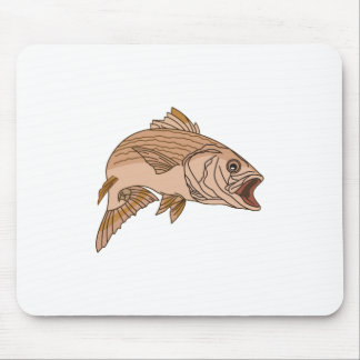 Striped Bass Mouse Pad