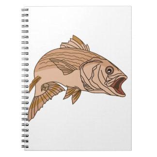 Striped Bass Notebook