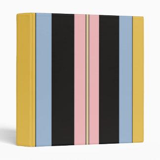 Striped Binder