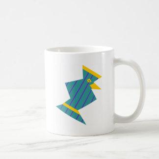 Striped Bird Coffee Mug