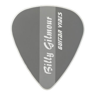 striped black create your own acetal guitar pick