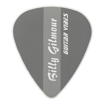 Striped Black Create Your Own Acetal Guitar Pick by mixedworld at Zazzle