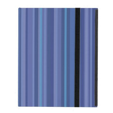 Striped Blue iPad 2/3/4 Hard Cover Case