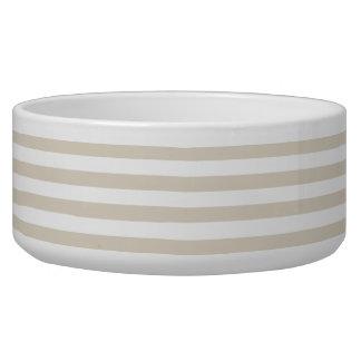 Striped Bone Bowl