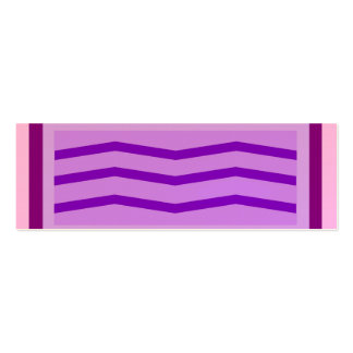 Striped Bookmarks. Business Card