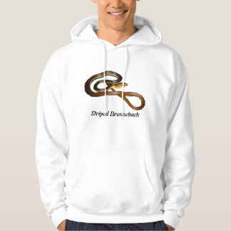 Striped Bronzeback Basic Hooded Sweatshirt