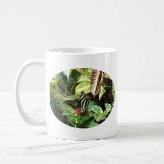 Striped Butterfly Coffee Mug