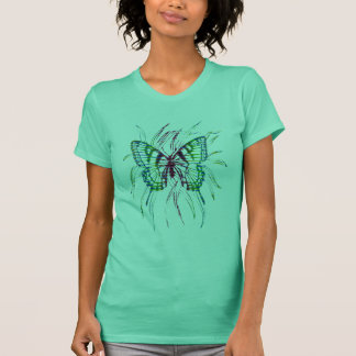 Striped Butterfly T-Shirt