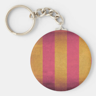 Striped canvas deck chair cover keychain