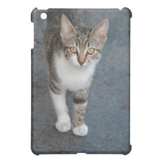 Striped cat case for the iPad mini