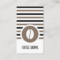 Striped Chic Coffee Bean Loyalty Punch