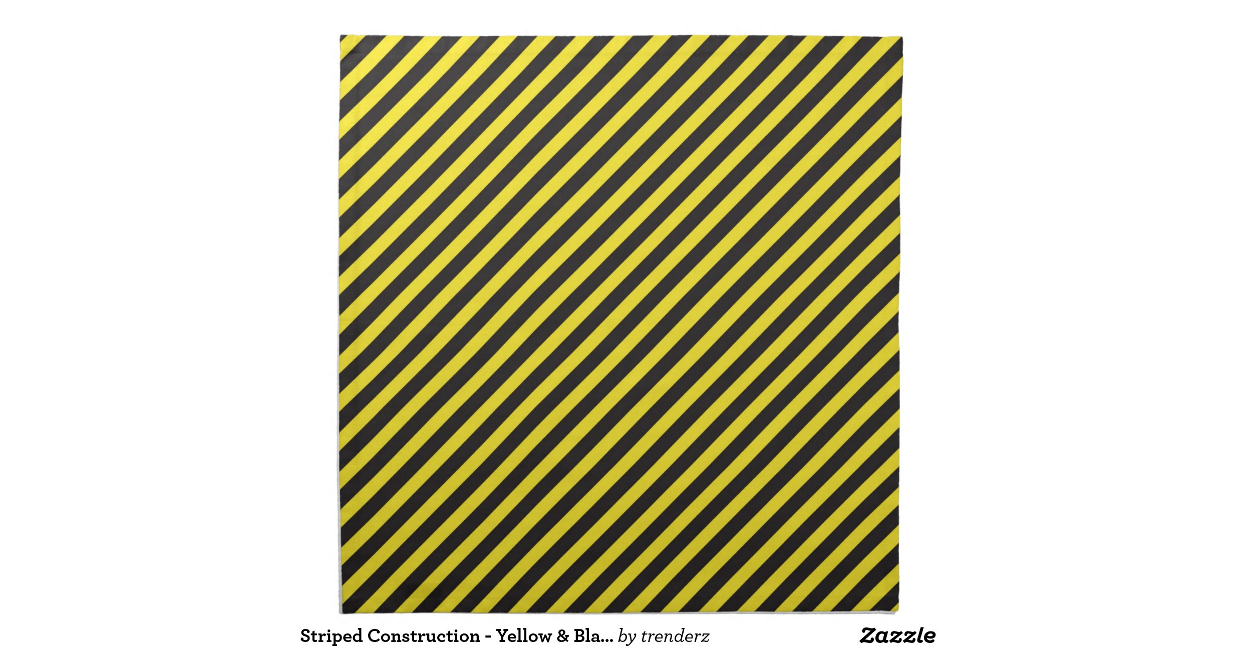 Striped Construction Yellow amp Black Diagonal Napkins