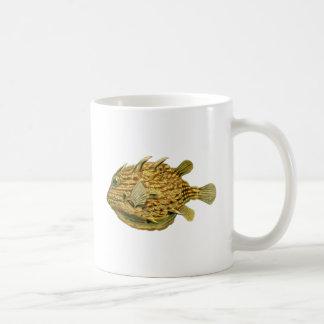 Striped cowfish mugs