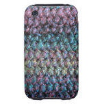 Striped crocheted knitted wool iPhone 3 tough cover