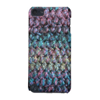 Striped crocheted knitted wool iPod touch 5G cases