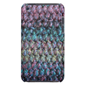 Striped crocheted knitted wool iPod Case-Mate cases