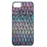 Striped crocheted knitted wool iPhone 5C cases