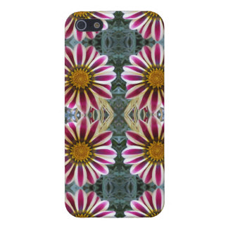 Striped Daisies Collage Case For iPhone SE/5/5s