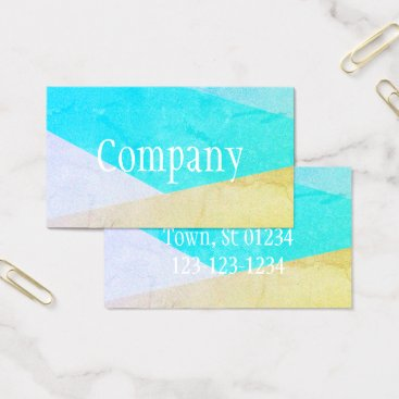 Professional Business Striped Designs Business Cards