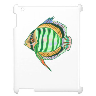 Striped Discus Fish Case For The iPad