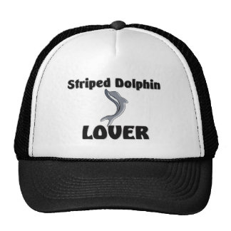 Striped Dolphin Lover Mesh Hats