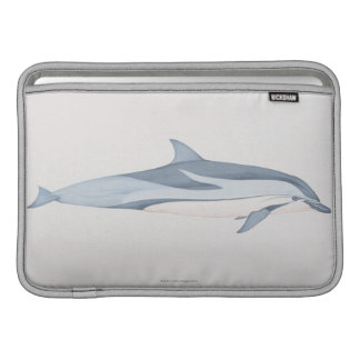 Striped Dolphin Sleeve For MacBook Air
