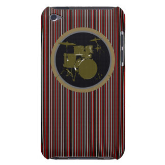 striped drum music item iPod touch cover