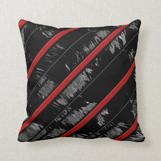 Striped Elegant Throw Pillow