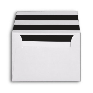 Striped Envelope