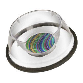 Striped fantasy bowl