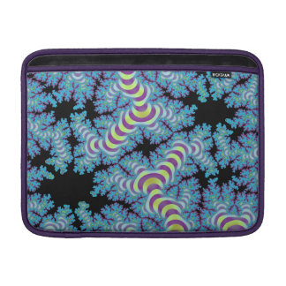 Striped Fractal Sleeve For MacBook Air