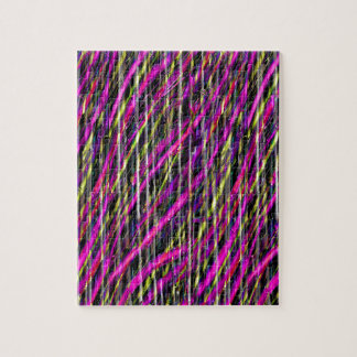 Striped Grunge Jigsaw Puzzle