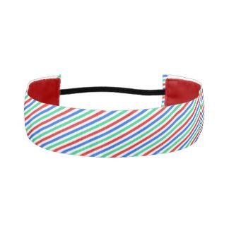 Striped Headband Athletic Headbands