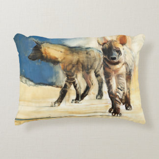Striped Hyaenas 2010 Accent Pillow