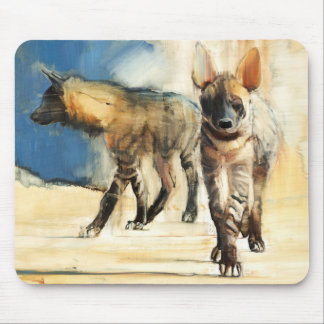 Striped Hyaenas 2010 Mouse Pad