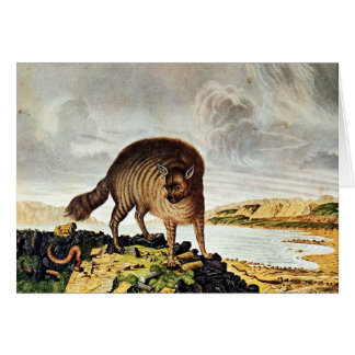 Striped Hyena Art (Aloys Zotl) Card