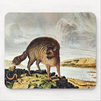 Striped Hyena Art (Aloys Zotl) Mouse Pad