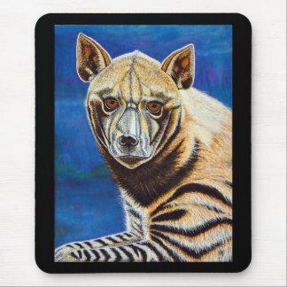 Striped Hyena Mouse Pad