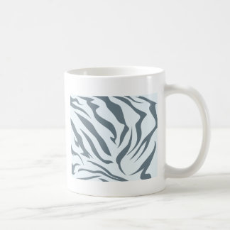 Striped Hyena Skin Pattern Coffee Mug